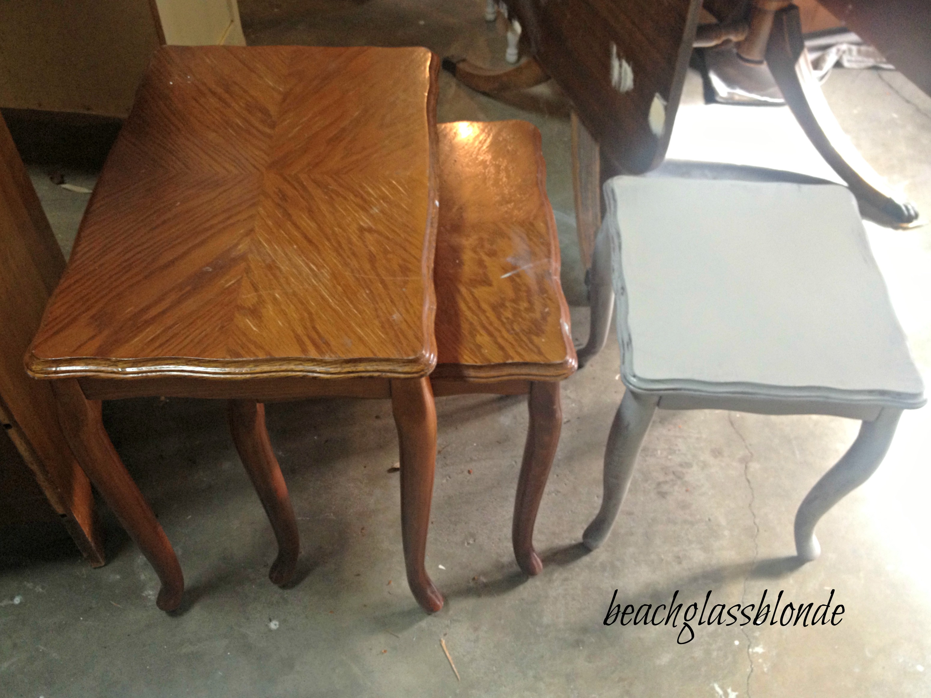 Nesting Tables -Before