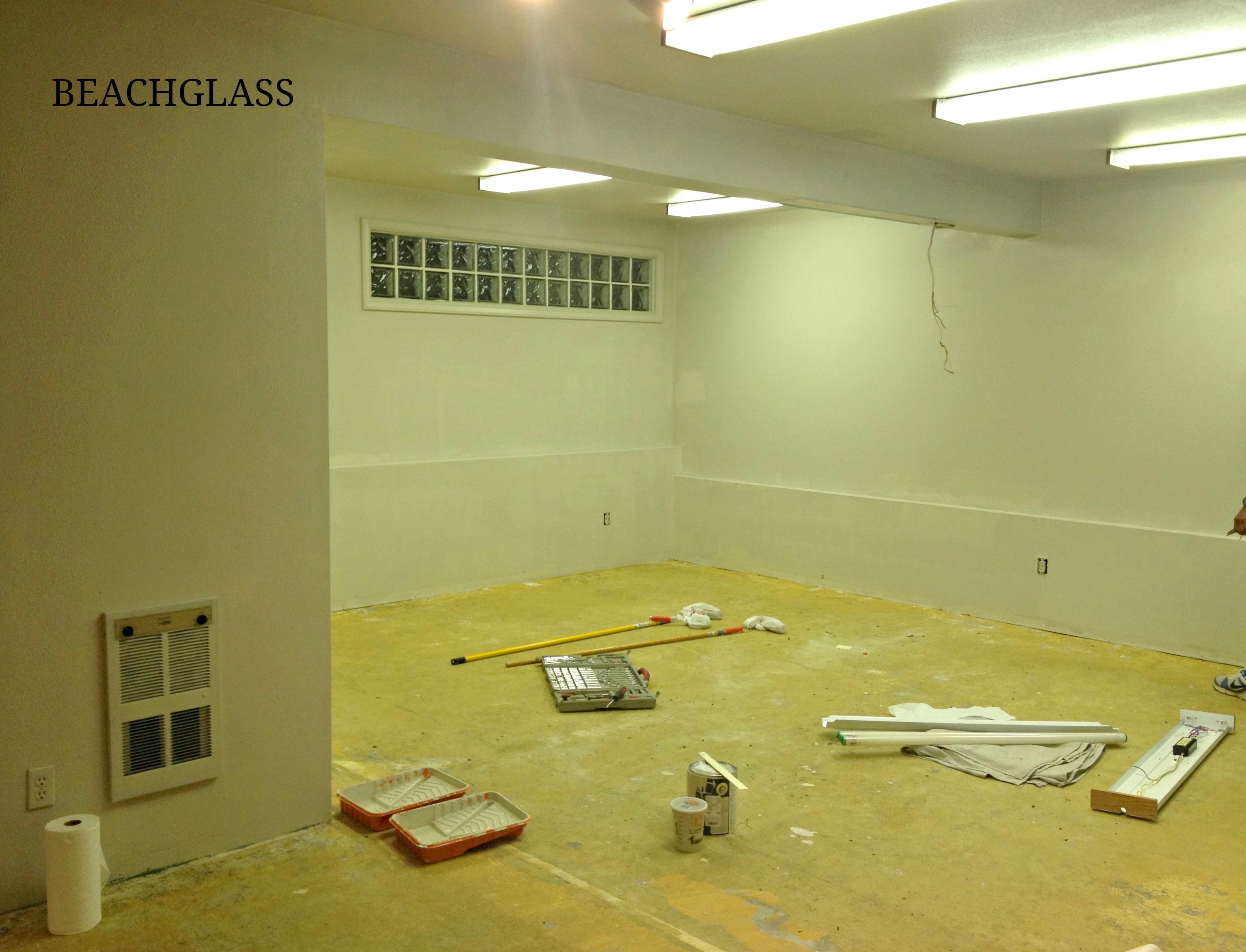 shop paint progress