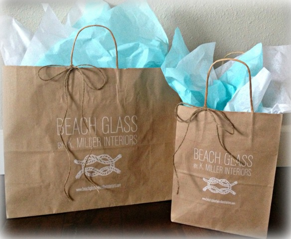 BEACHGLASS Shopping bags